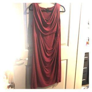 Burgundy Ann Taylor Dress